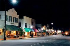 Downtown Highlands, Nc/ after hours