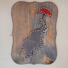 elephant string art - Google Search