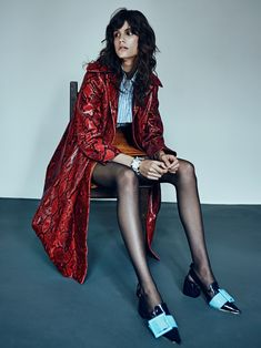 Antonina Petkovic by Felix Wong for Dress to Kill Magazine Fall 2015 - Miu Miu Fall 2015
