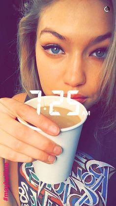 Gigi Hadid via snapchat (itsgigihadid).