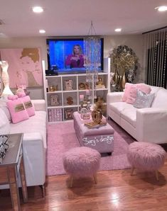 DIY Makeup Room Ideas, Organizer, Storage and Decorating DIY Make-up Raum Ideen, Veranstalter, Lagerung und Dekoration Living Room Decor, Bedroom Decor, Glam Living Room, Cozy Living, Girl Bathroom Decor, Mirror Bathroom, Modern Bedroom, Bedroom Furniture, Living Rooms