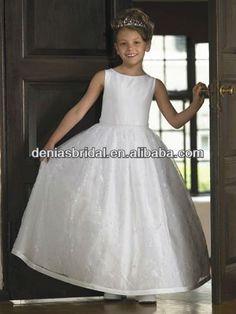 vestidos de primera comunion sin manga - Buscar con Google