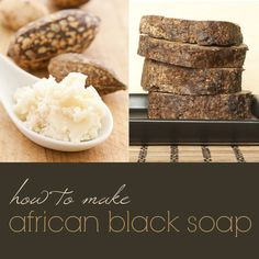 African black soap three ways: cold process, hot process and crockpot!