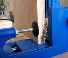 Your Kreg pocket hole jig drill guide needs to be set for 3/4 inch.
