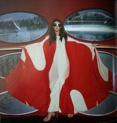 The Futuro House - A Home For Tomorrow – Voices of East Anglia 1960s Dresses, People Icon, Unique Faces, Retro Futuristic, Dieselpunk, Fashion Colours, London Fashion, Editorial Fashion, Pop Culture