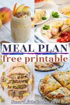 A simple guide to meal planning. Get my 8 how to meal plan tips to help start planning meals for the week. Save time, money, and stress by planning ahead! Cooking is not hard. But, it can quickly become boring. Let's be honest. Life gets really busy, especially if you are a working parent, and more often than not, cooking at home can feel daunting, stressful and sometimes even impossible. It can quickly become a time-consuming chore that is sucking the joy out of our lives. | @smartlilcookie Healthy Salad Recipes, Healthy Breakfast Recipes, Delicious Recipes, Quick Appetizers, Appetizer Recipes, Easy Meal Prep, Easy Meals, Meal Prep For Beginners, Eating Vegetables