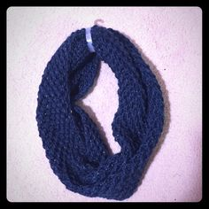 NWT Infinity scarf-blue Blue infinity scarf. NWT. Target Accessories Scarves & Wraps