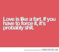 Love is like ..... #fact