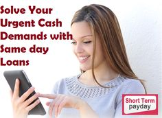 Same day loans will help you to find money for your urgent cash demands, these loans plan for those people who suffering with poor credit profile. The same day loans are a right place for you. http://www.shorttermpayday.com.au