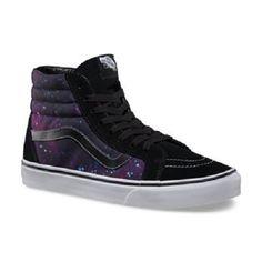4fe57a7c63d VANS OLD SKOOL COSMIC SK8-HI REISSUE GALAXY Skate Shoe High top 6.5
