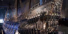 A must-see when in Stockholm! The Vasa Museum, Stockholm, Sweden. Largest and most intact shipwreck in the world. Raised after more than 3 centuries in Sank to the bottom of Stockholm Harbor in Oh The Places You'll Go, Places To Travel, Places To Visit, Vasa Museum, Sweden Stockholm, Stockholm Travel, Voyage Suede, Shipwreck, Tall Ships