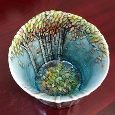 ..I could get lost in this wee woods!! #potteryclasses