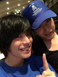 Aokise's stage actors (Kuroba Mario & Onuma Shota) ♡♡♡