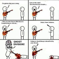Ghost Division by Sabaton