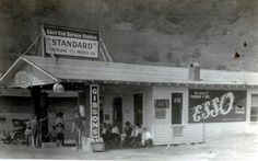 Guest River Gas Station in Wise County, Virginia, c. 1920's