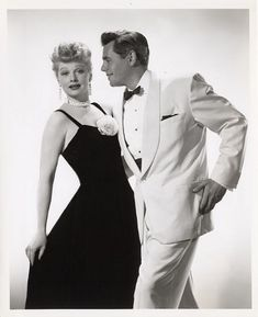 Lucille Ball and Desi Arnaz...... Uploaded By www.1stand2ndtimearound.etsy.com