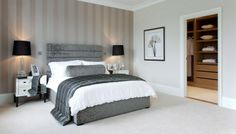 Grey and White Modern Classic Bedroom