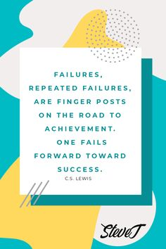 Failures, repeated failures, are finger posts on the road to achievement. One fails forward toward success. #successquotes #quotestoliveby Viral Marketing, Affiliate Marketing, Internet Marketing, Online Marketing, Number Games, Marketing Techniques, Starting Your Own Business, Success Quotes, Quotes To Live By
