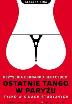 LE DERNIER TANGO A PARIS - Bernardo BERTOLUCCI (Italie-France, 1972) affiche polonaise