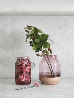 Vase Elevated Gris - Muuto