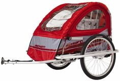 Schwinn Mark III Double Bike Trailer and Jogging Stroller (Red/Gray) by Schwinn, http://www.amazon.com/dp/B001GAPU94/ref=cm_sw_r_pi_dp_.0P.qb1AJBSQ6/184-9799190-8016157