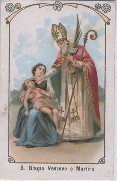 Feast of St. Blaise, February 3rd