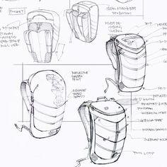 Boreas Gear, Inc. is raising funds for Bootlegger Modular Pack System on Kickstarter! The Bootlegger Modular Pack System. Industrial Design Portfolio, Industrial Design Sketch, Portfolio Design, Cool Sketches, Drawing Sketches, Drawings, Sketching, Id Design, Sketch Design