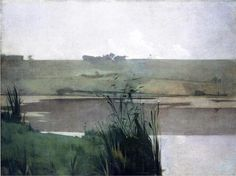 "John Henry Twachtman, ""Arques-la-Bataille"" (1885)"