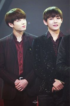 Kookie & Tae - We can smile if we are together! ❤❤ Royal Beauty