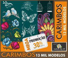 PROMOÇÃO DE CARIMBOS - SENHORAS DA ARTE MILHARES DE MODELINHOS DE CARIMBOS , CONHEÇA NOSSA COLEÇÃO DE CARIMBOS ENTRANDO NO NOSSO SITE:www.senhorasdaarte.com.br