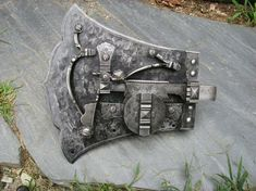 Hand Forged Iron Door Locks by J.S. Benson Woodworking & Design at CustomMade.com