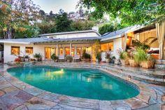 Backyard Beauty - You Could Rent Sandra Bullock's Sunset Strip Home - Photos