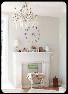 Benjamin Moore Horizon Silvery Gray Best Greige Paint Color Bedroom Colors