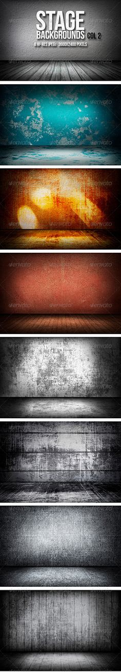Stage Backgrounds Col 2