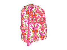 Vera Bradley Laptop Backpack Plum Petals - Zappos.com Free Shipping BOTH Ways