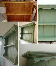 An oregon pine shelf painted with Petite rouge Chalk Paint colour Absynthe, lightly distressed and sealed. Perks up the bathroom and gives the shelf more substance. Pine Shelves, Chalk Paint Colors, Paint Effects, Bathroom Shelves, Own Home, Toilet Paper, Oregon, Shelf, Colour