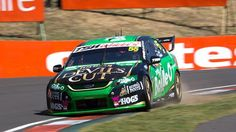 David Reynolds of Ford Performance Racing set a new lap record during practice for the Supercheap Auto Bathurst (AAP) Australian V8 Supercars, Sprint Cars, Nascar, Super Cars, Ford, David, Racing, Vehicles, Rolling Stock