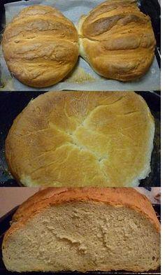 Recept na pečení domácího chleba od Primule Dumplings, Buns, Pizza, Bread, Recipes, Food, Brot, Essen, Eten