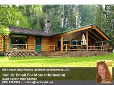 Beautiful luxury lakefront log home on Fishhawk Lake Listed and Sold by Gayle Rich-Boxman