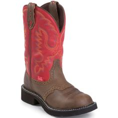 L9921 Women's Gypsy Western Justin Boots - Red