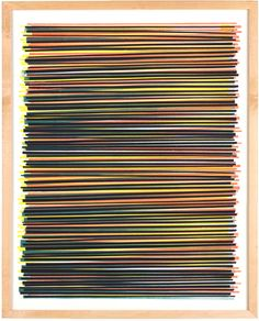 Image of Line Series Monoprint No. 6 - Dana McClure