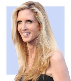 Ann Coulter fat shames protesters.  She is a really embarrassing woman and should be ashamed of herself.