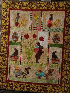 Easter quilt...