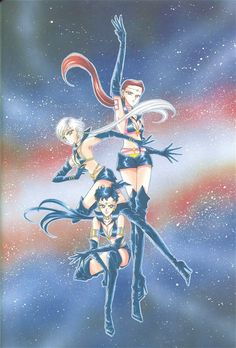 """""""The Sailor Starlights were supposed to have even more minor roles than the akuma. So when it looked like they were gonna get leading roles in the anime, I was totally surprised! Even more surprising, before transforming into Sailor Senshi they were men?! I was really shocked to learn that."""""""