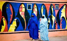 Muslim women by Martin Harvey