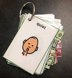 Downloadable Visual Cues, Picture Cards, Schedules, Token Boards
