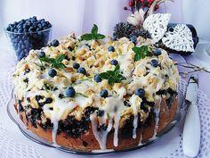 Ala piecze i gotuje: Drożdżowe z borówką i kruszonką