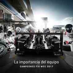 El talento, la fuerza y la pasión ganan todas las batallas cuando lo hacen en equipo. Gracias @Porsche_Team por emocionarnos cada minuto. Os llevamos en el corazón ❤