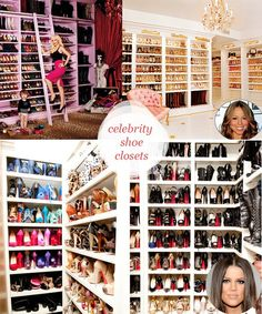 Celebrity closet #shoeholic #shoe #addiction #9W