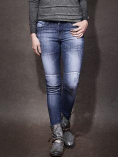 Roadster Blue Skinny Fit Casual Jeans @looksgud  #Roadster, #Blue, #Solid, #Casual